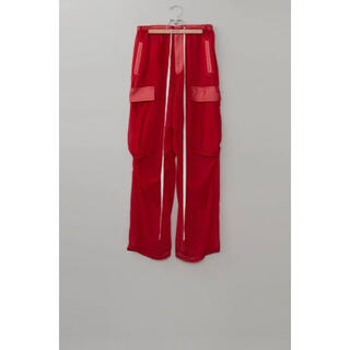 MASU SEE THROUGH OVER PANTS(GLITTER RED)