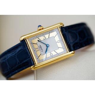 Cartier - 専用 美品 カルティエ マスト タンク ゴールドフレーム アラビア LM