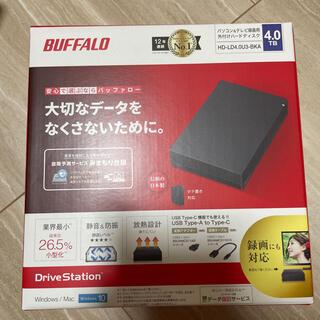バッファロー(Buffalo)の【新品未開封】HD-LD4.0U3-BKA バッファロー (PC周辺機器)
