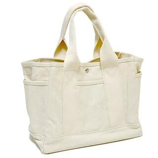 2Way バッグ 仕切り付き 新品 トートバッグ 帆布 ショルダーバッグ 未使用