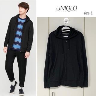 UNIQLO - 【美品】UNIQLO エアリズムUVカットフルジップパーカ