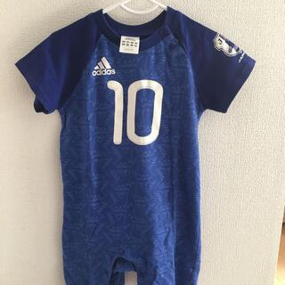 アディダス(adidas)のロンパース adidas アディダス サッカー ワンコイン 子ども服(その他)