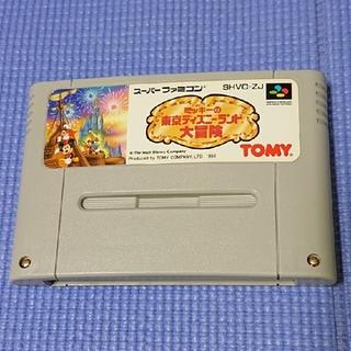スーパーファミコン(スーパーファミコン)のミッキーの東京ディズニーランド(家庭用ゲームソフト)