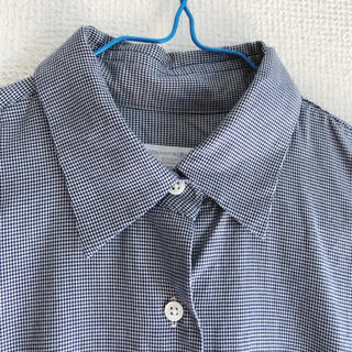 スーツカンパニー(THE SUIT COMPANY)のメーカーズシャツカマクラ 鎌倉シャツ 7号 ブルーチェック(シャツ/ブラウス(長袖/七分))