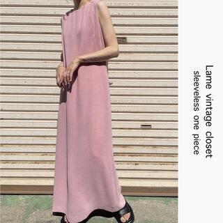 Santa Monica - 90s 古着 DAVID WARREN ロングワンピース ドレス ビンテージ