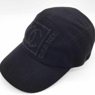 CHANEL - 正規品 CHANEL伊製 シャネル ココマーク付 ブラックスポーツライン 未使用