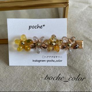 no.11 flower ヘアクリップ(ヘアアクセサリー)