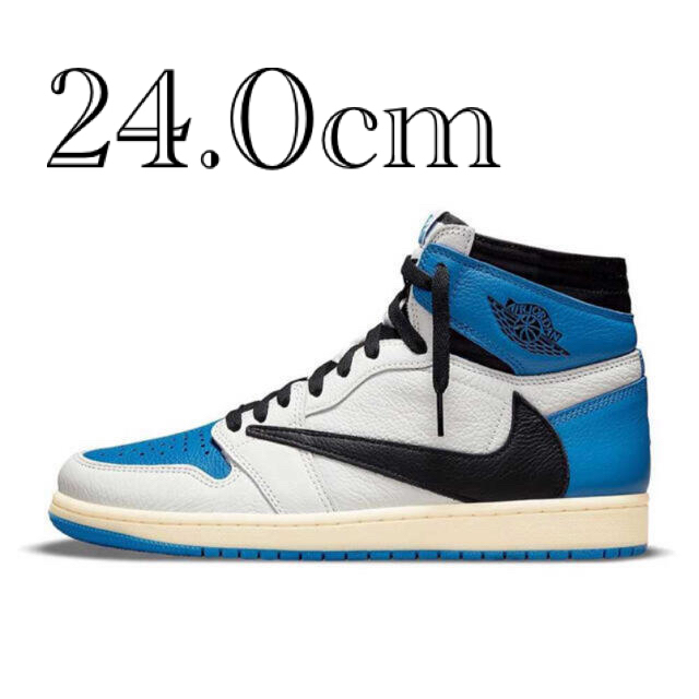 NIKE(ナイキ)のTRAVIS SCOTTO FRAGMENT NIKE AIR JORDAN 1 メンズの靴/シューズ(スニーカー)の商品写真
