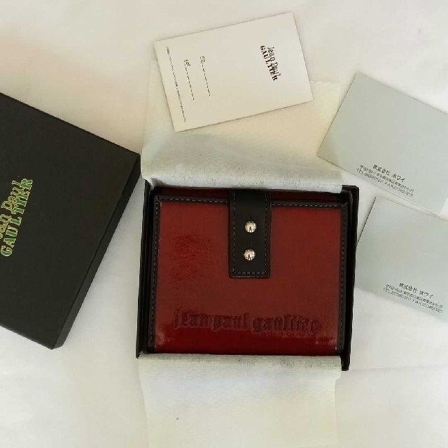 Jean-Paul GAULTIER(ジャンポールゴルチエ)の未使用⭐Jean Paul GAULTIER 折り財布 ジャンポールゴルチエ レディースのファッション小物(財布)の商品写真