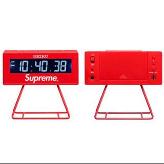 Supreme - Supreme シュプリーム Seiko Marathon Clock 赤
