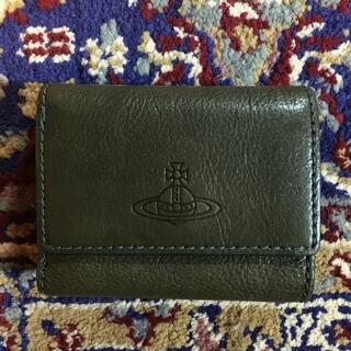 Vivienne Westwood - Vivienne Westwood 折り財布 グリーン ミニ財布 箱付き