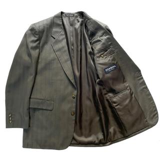 サンローラン(Saint Laurent)の美品★サンローラン ビンテージ テーラード ジャケット スーツ L相当 YSL(テーラードジャケット)