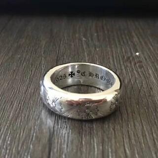 クロムハーツ 10ミリ ラウンドリング crome hearts(リング(指輪))