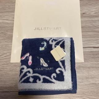 JILLSTUART - ジルスチュアートタオルハンカチネイビー