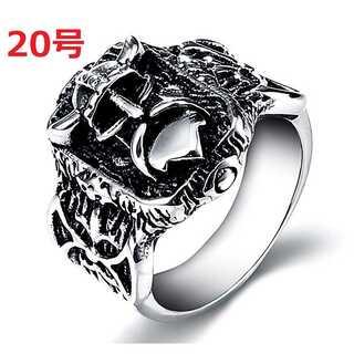 ヨーロピアン ジュエリー 海賊 ヴァイキング モチーフ シルバー 指輪 20号(リング(指輪))