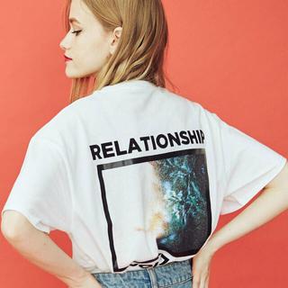 jouetie - jouetie◆RELATIONSHIP BIG TEE◆バックプリントTシャツ