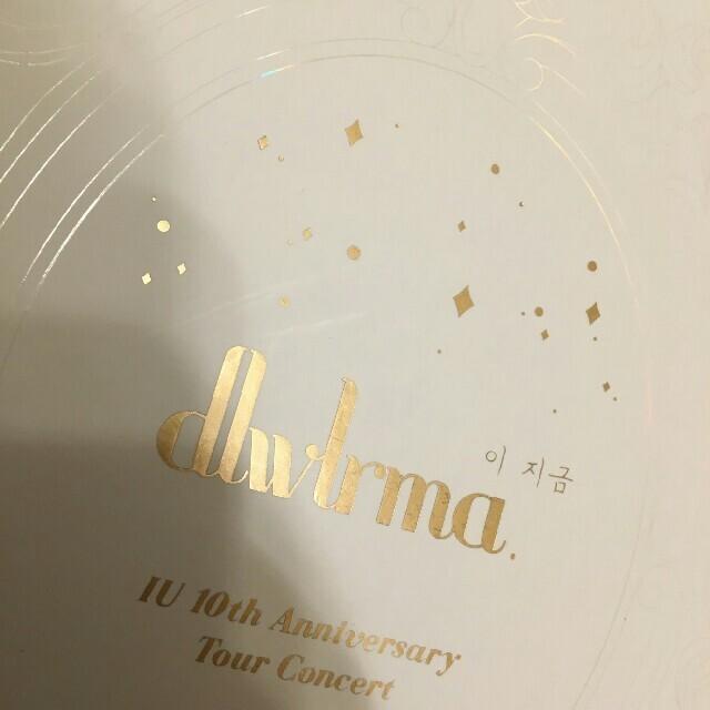 IU 10th Anniversary Tour Blu-ray&DVD エンタメ/ホビーのDVD/ブルーレイ(ミュージック)の商品写真