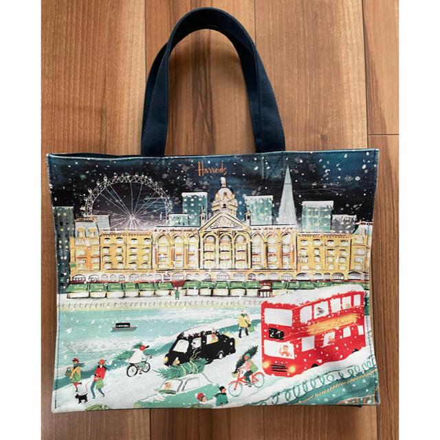 Harrods(ハロッズ)の[正規品] Harrods [ハロッズ] クリスマス限定トートバッグ レディースのバッグ(トートバッグ)の商品写真