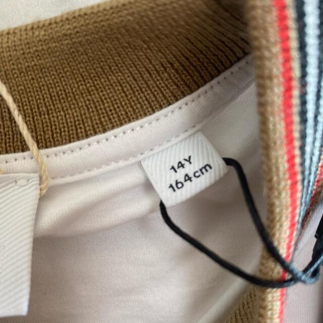 BURBERRY(バーバリー)の大人も着用OK【新品】BURBERRY バーバリー ロゴ Tシャツ 164cm キッズ/ベビー/マタニティのキッズ服女の子用(90cm~)(Tシャツ/カットソー)の商品写真