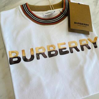 BURBERRY - 大人も着用OK【新品】BURBERRY バーバリー ロゴ Tシャツ 164cm