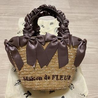 Maison de FLEUR - 新品未使用メゾンドフルール  リボンカゴバック