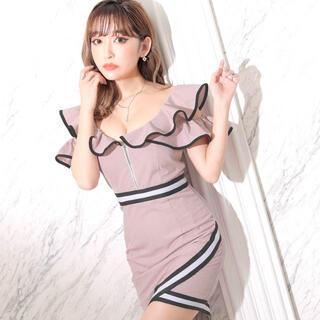 dazzy store - dazzy store フリルタイトドレス
