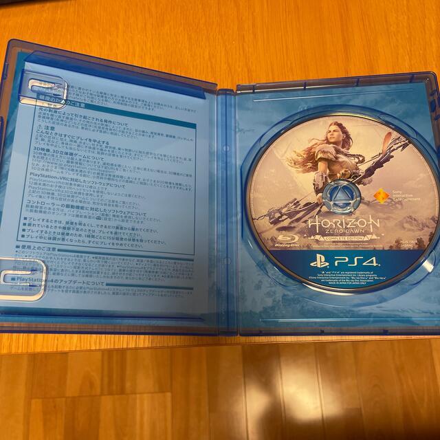 PlayStation4(プレイステーション4)のHorizon Zero Dawn ホライゾンゼロドーン エンタメ/ホビーのゲームソフト/ゲーム機本体(家庭用ゲームソフト)の商品写真