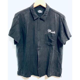 RUDE GALLERY - 7351 ルードギャラリー オープンカラー レーヨン 刺繍 半袖 シャツ