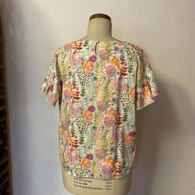 Techichi(テチチ)のテチチ リバティプリントブラウス レディースのトップス(シャツ/ブラウス(半袖/袖なし))の商品写真