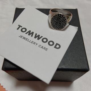 Tom Wood  ブラックスピネル(Black Spinel)リング 54