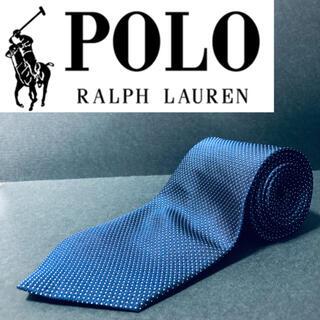 POLO RALPH LAUREN - 【美品】 POLO/ポロラルフローレン ネクタイ ネイビー