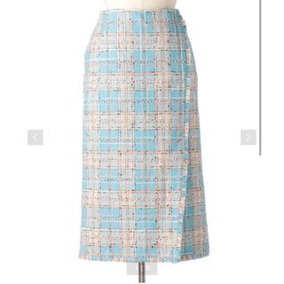 Drawer - 【美品】Drawer サマーツイードスカートサイズ38