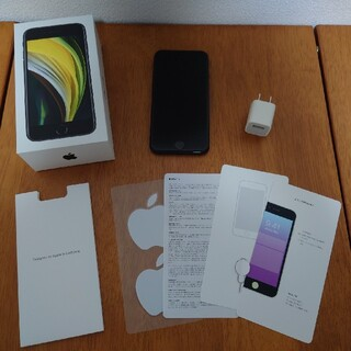 iPhone - [美品] iPhone SE (第二世代) ブラック 64GB SIMロック解除