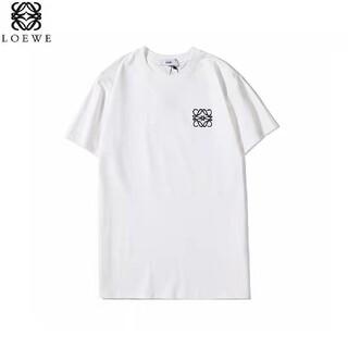 [LOEWE]  刺繍ロゴ人気 Tシャツ  M-XL