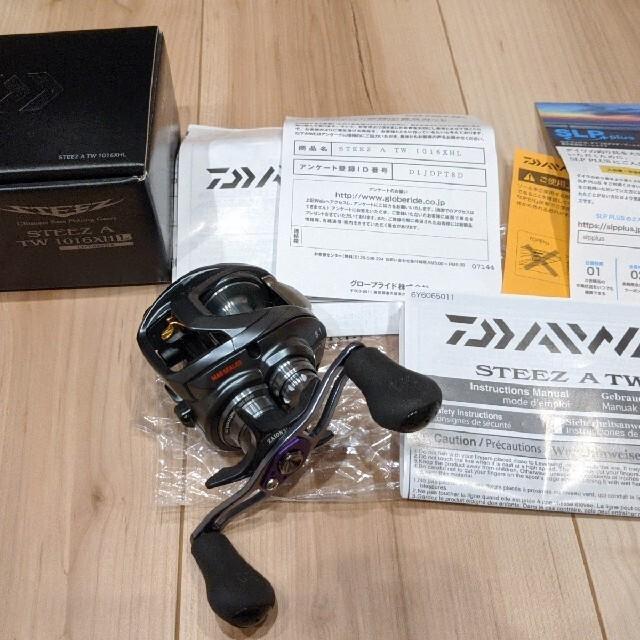 DAIWA(ダイワ)のダイワ スティーズ A TW 1016XH★DAIWA STEEZ A TW スポーツ/アウトドアのフィッシング(リール)の商品写真
