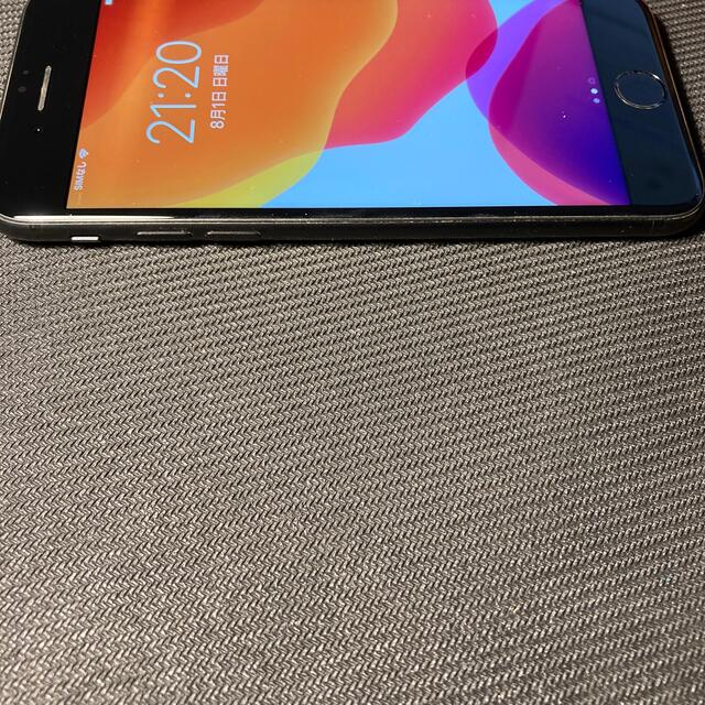 Apple(アップル)のiPhone7 128GB ブラック SIMフリー スマホ/家電/カメラのスマートフォン/携帯電話(スマートフォン本体)の商品写真