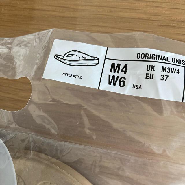 OOFOS ウーフォス ooriginal ベージュ 23cm レディースの靴/シューズ(サンダル)の商品写真