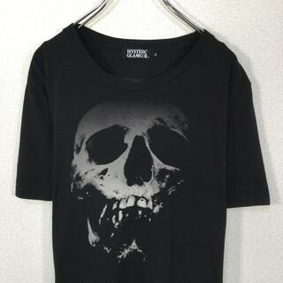 HYSTERIC GLAMOUR - 【人気】ヒステリックグラマー Tシャツ スカル ストロベリー プリント 黒色