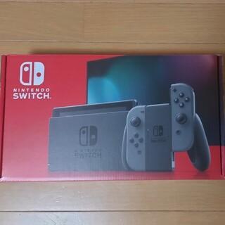 ニンテンドースイッチ(Nintendo Switch)のNintendo Switch 新品 任天堂スイッチ 本体 グレー ニンテンドウ(家庭用ゲーム機本体)