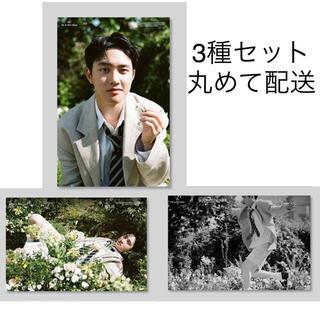 シャイニー(SHINee)のEXO D.O. ギョンス 共感  Empathy  ポスター3種セット(アイドルグッズ)