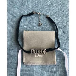 Dior - Dior J'ADIORブラックベルベットリボンチョーカー