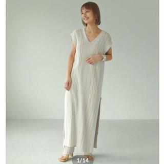 TODAYFUL - TODAYFUL トゥデイフル Randomrib Knit Dress