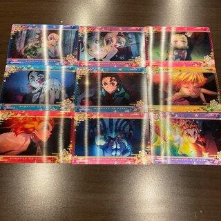 鬼滅の刃 名場面回顧カード チョコスナック3 無限列車編 コンプリート