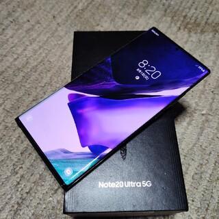 SAMSUNG - Galaxy Note 20 Ultre 5G コスミックブラック