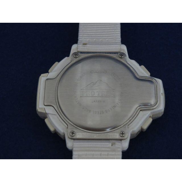 CASIO(カシオ)のプロトレック PRT-40限定 【中古】★送料込み★ メンズの時計(腕時計(デジタル))の商品写真