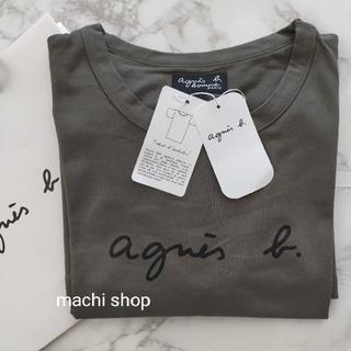 agnes b. - agnes b アニエスベー Tシャツ カーキ M 新品