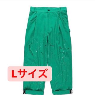 9090 ペインターパンツ 緑 L