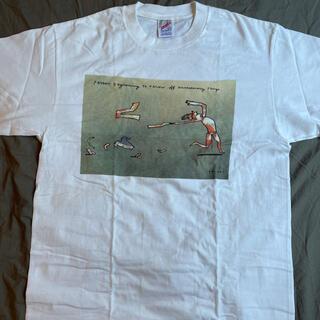アートヴィンテージ(ART VINTAGE)の奇跡のデッド L 90s Richard Stine TEE JERZEES(Tシャツ/カットソー(半袖/袖なし))