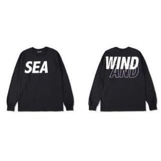WIND AND SEA SEA L/S T-SHIRT ブラック ロンT
