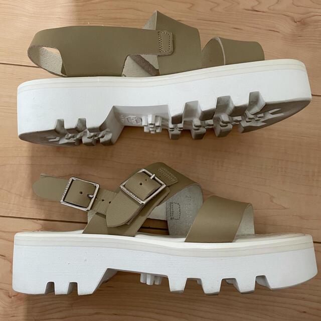 HYKE(ハイク)の最終プライス8/5までの出品!美品オーラリー サンダル レディースの靴/シューズ(サンダル)の商品写真